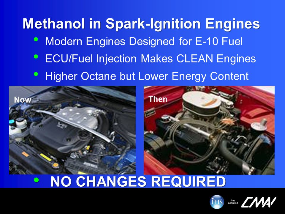 Methanol in Spark-Ignition Engines