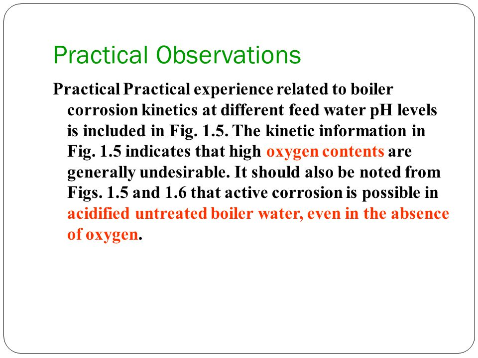 Practical Observations