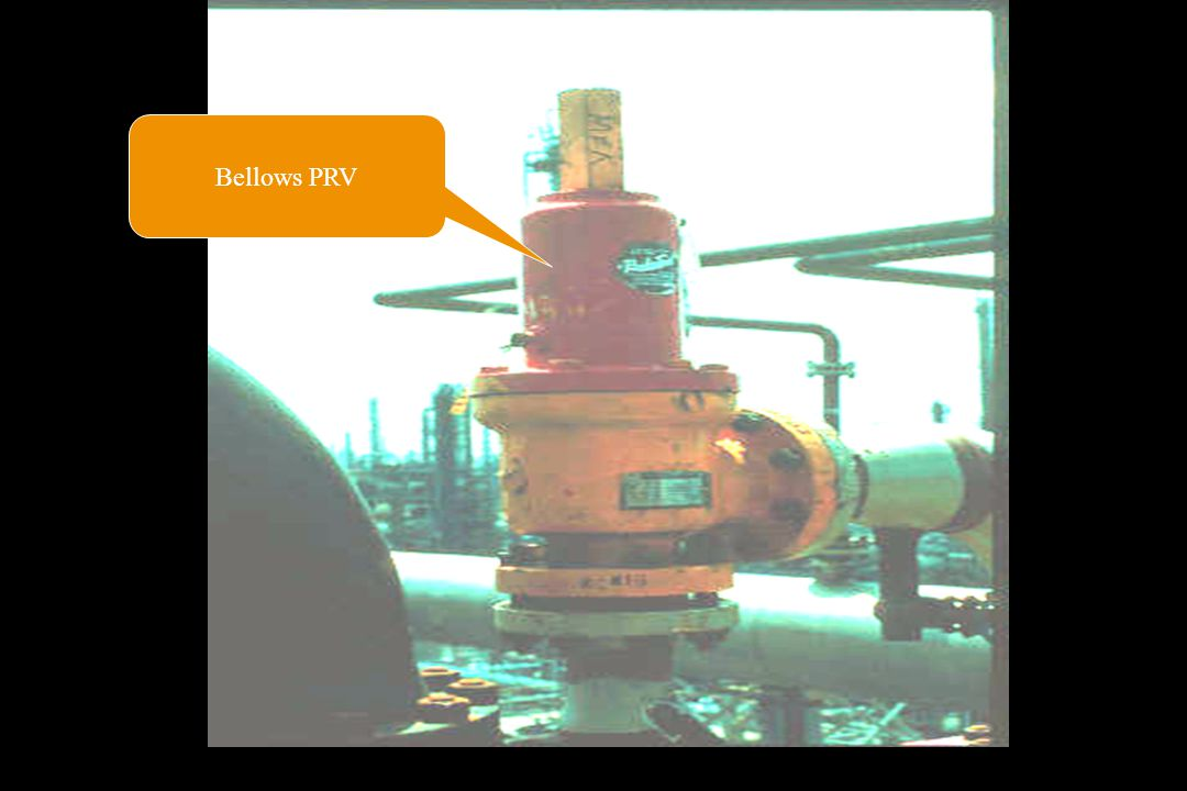 Bellows PRV Venting arrangements must be carefully selected and designed to meet the following requirements: