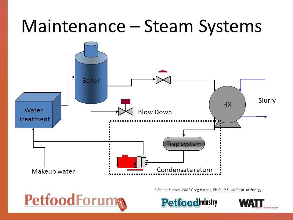 Maintenance – Steam Systems