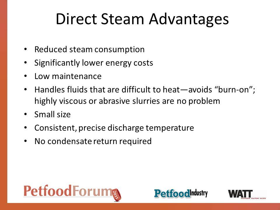 Direct Steam Advantages