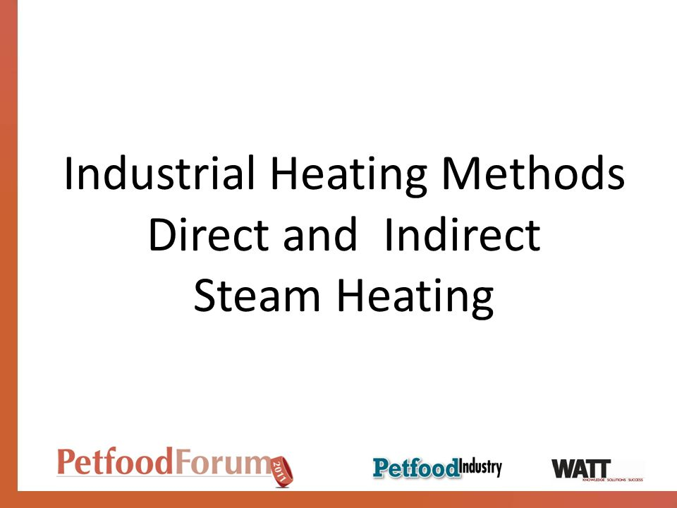 Industrial Heating Methods Direct and Indirect Steam Heating