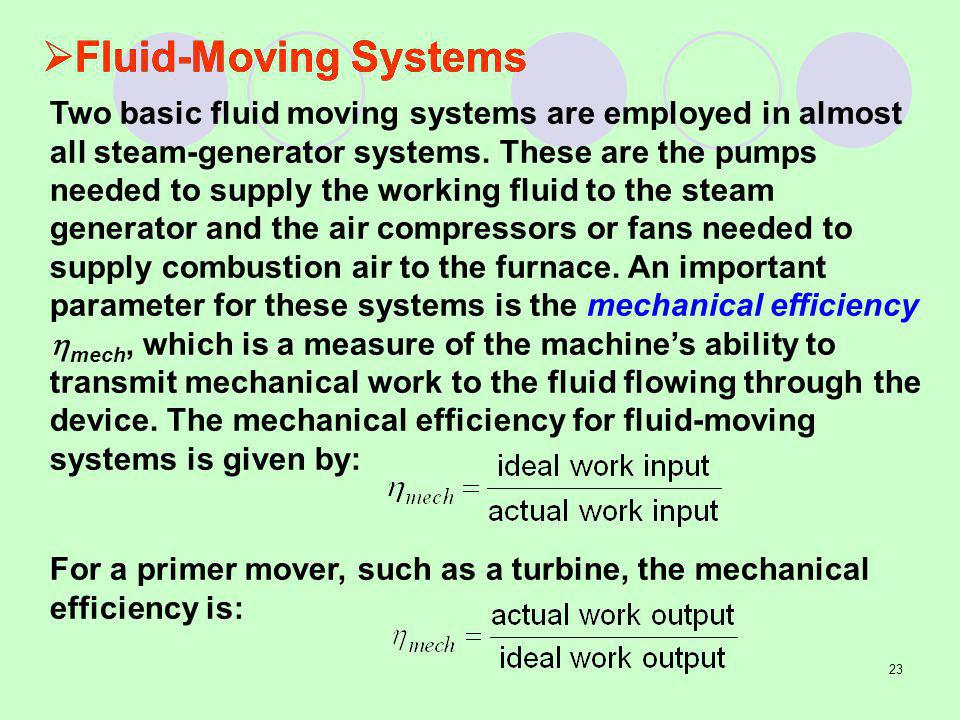 Fluid-Moving Systems
