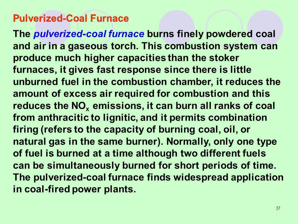 Pulverized-Coal Furnace