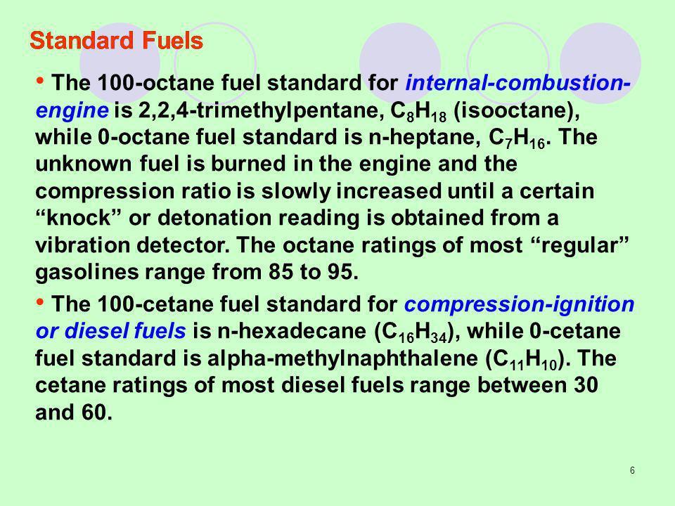 Standard Fuels
