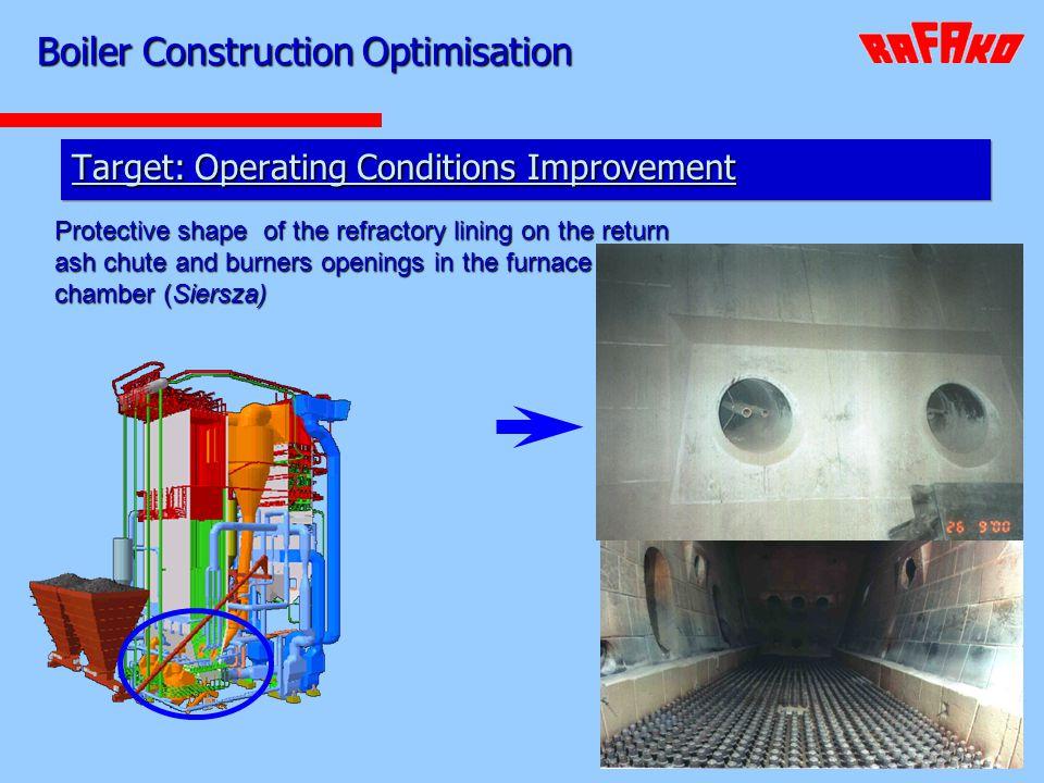 Boiler Construction Optimisation
