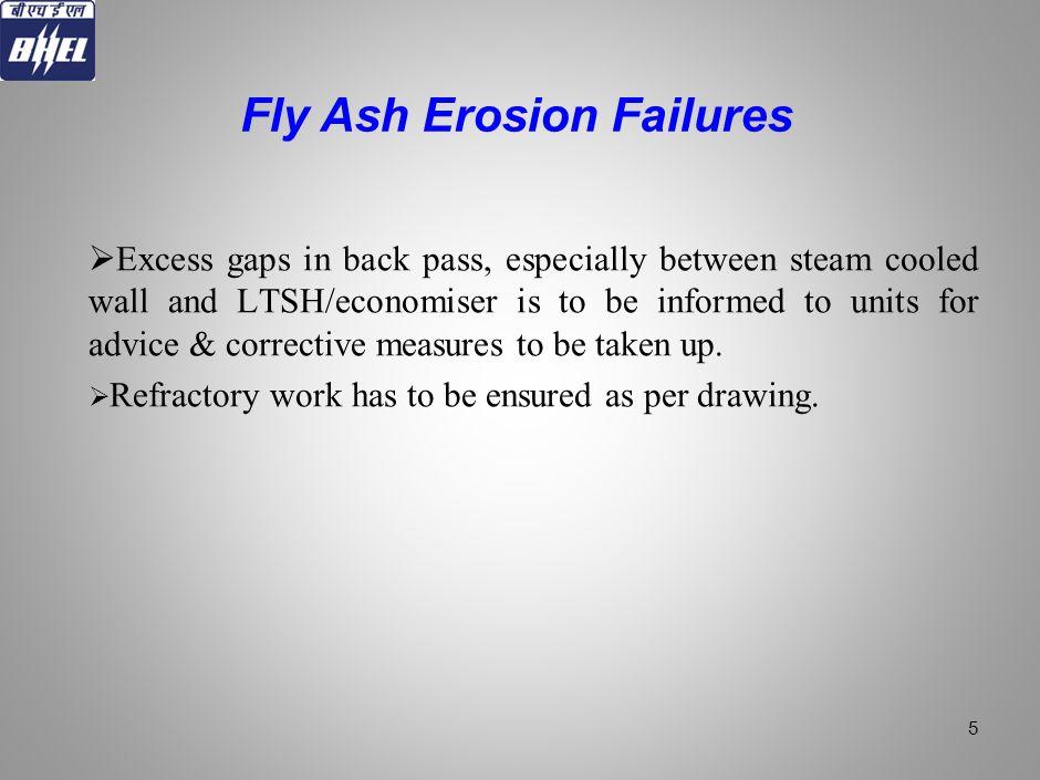 Fly Ash Erosion Failures