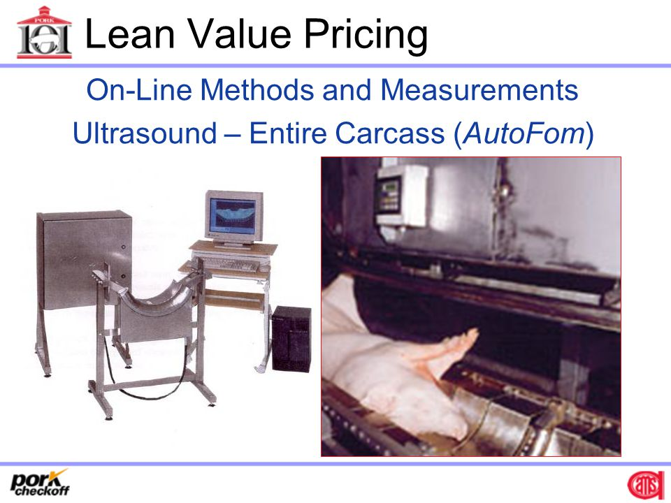Lean Value Pricing On-Line Methods and Measurements
