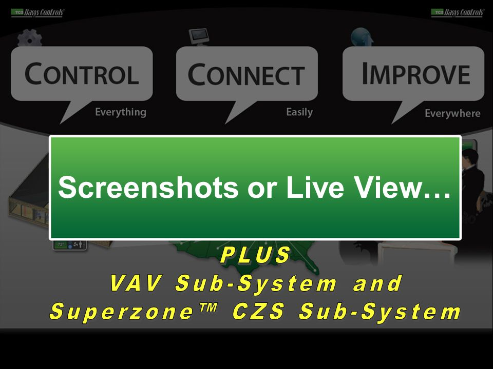 Screenshots or Live View…