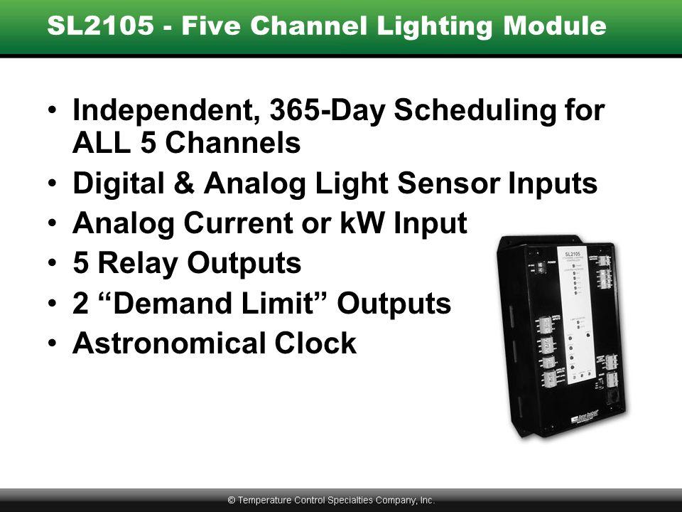 SL2105 - Five Channel Lighting Module