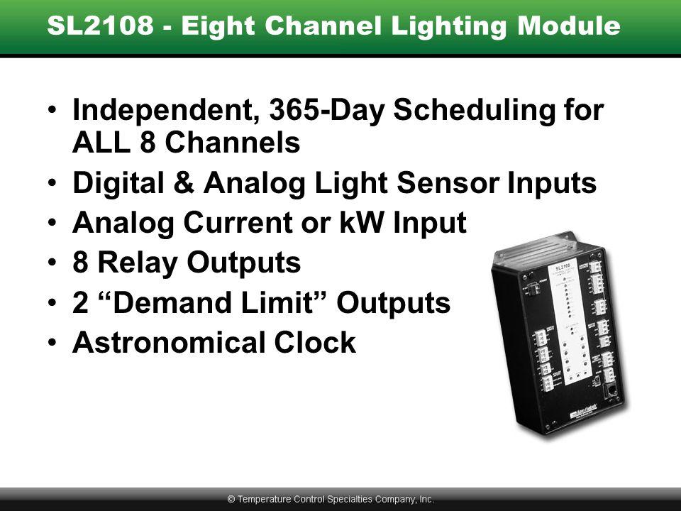 SL2108 - Eight Channel Lighting Module