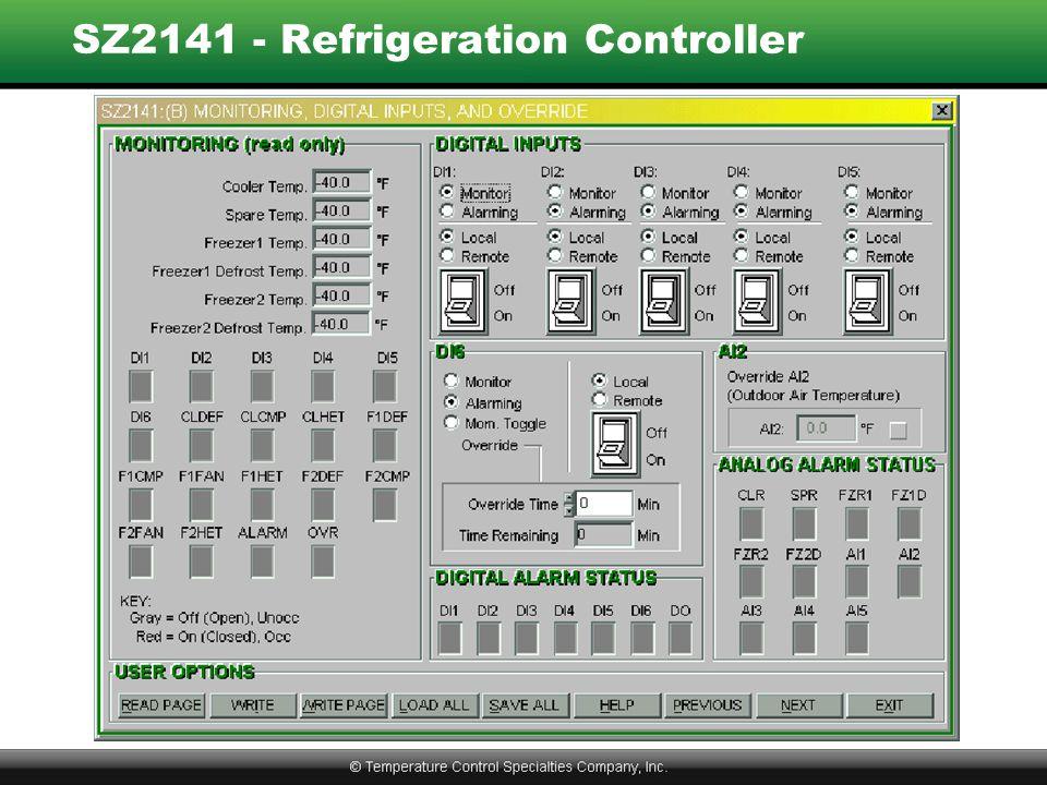 SZ2141 - Refrigeration Controller