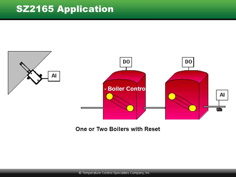 One or Two Boilers with Reset