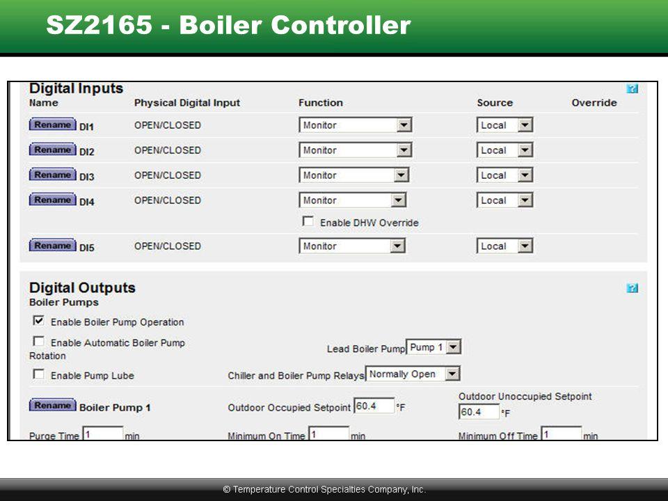 SZ2165 - Boiler Controller