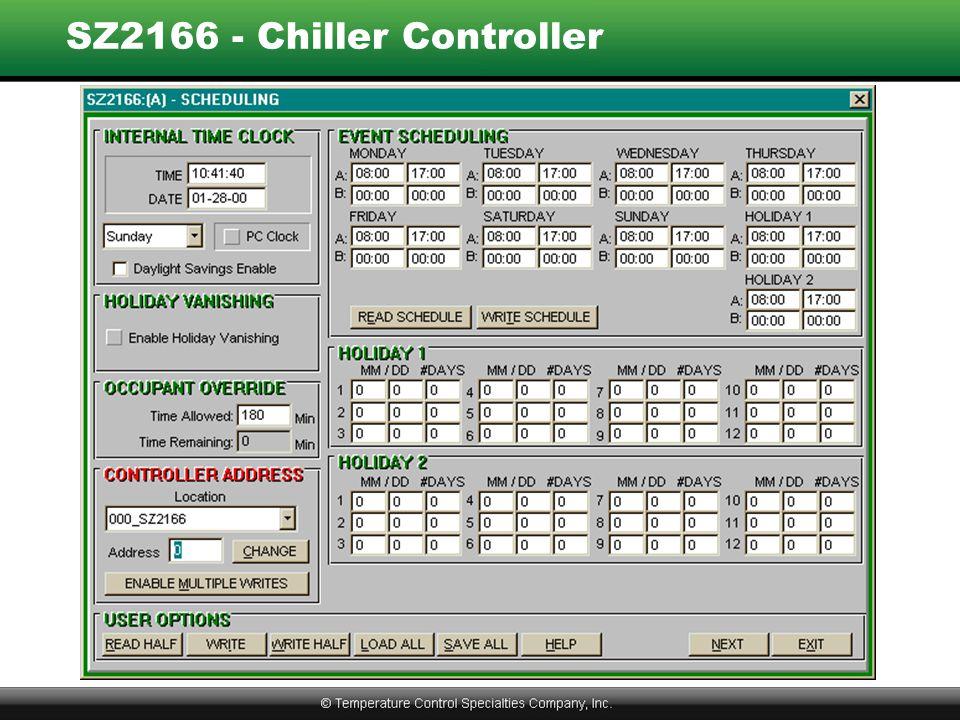 SZ2166 - Chiller Controller