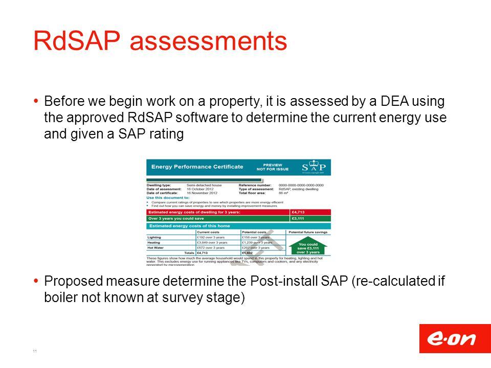 RdSAP assessments