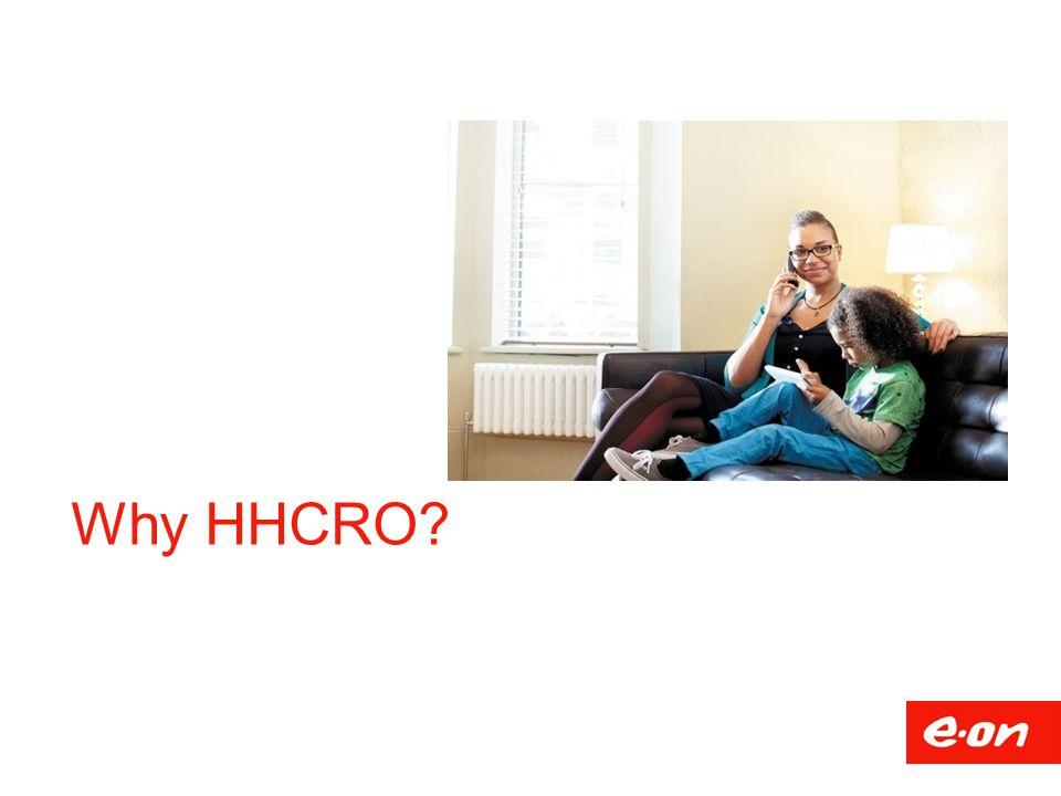 Why HHCRO