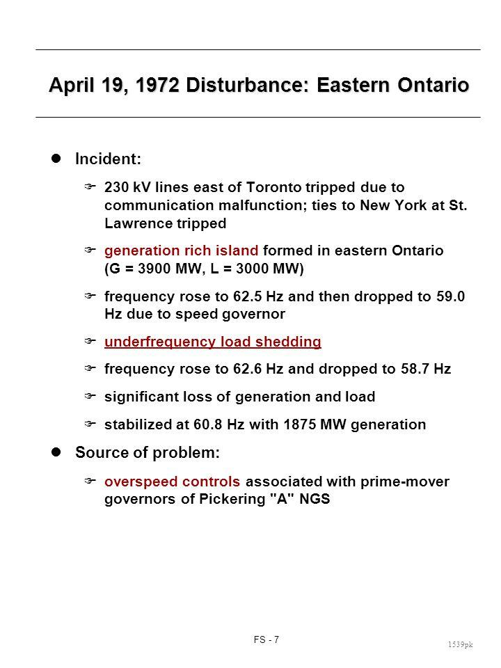 January 20, 1974 Disturbance: Toronto Area