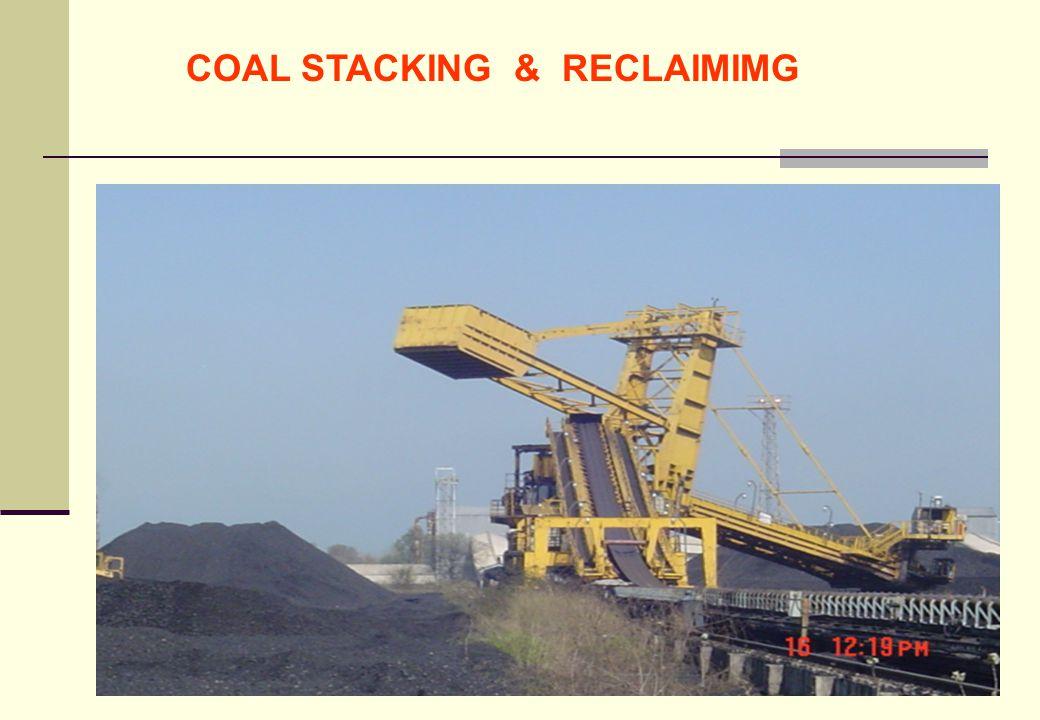 COAL STACKING & RECLAIMIMG