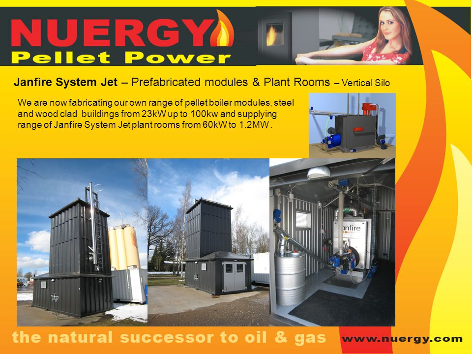 Janfire System Jet – Prefabricated modules & Plant Rooms – Vertical Silo