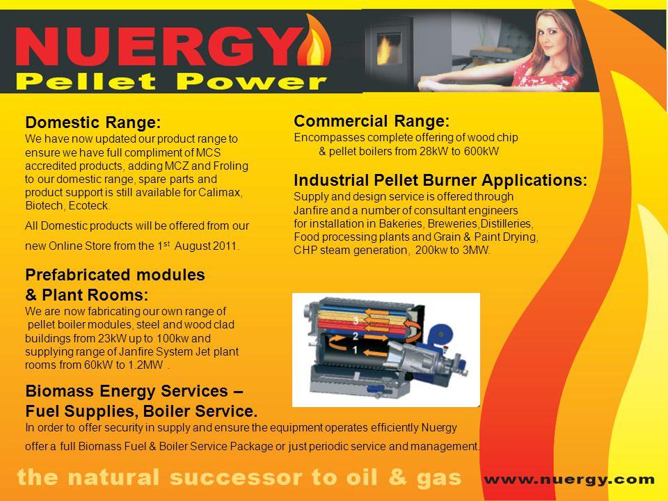 Industrial Pellet Burner Applications: