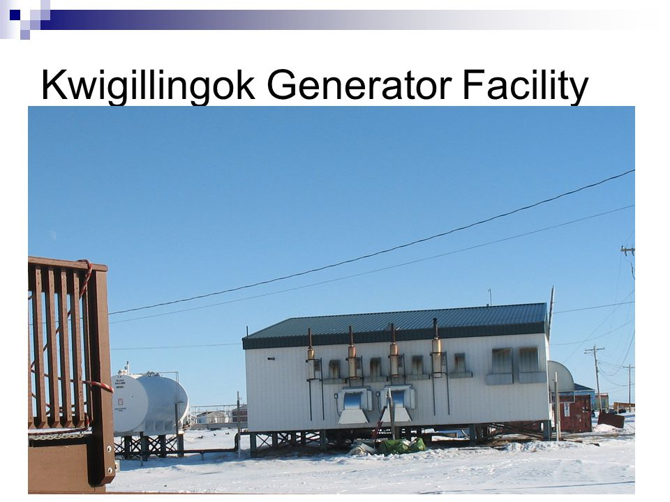 Kwigillingok Generator Facility