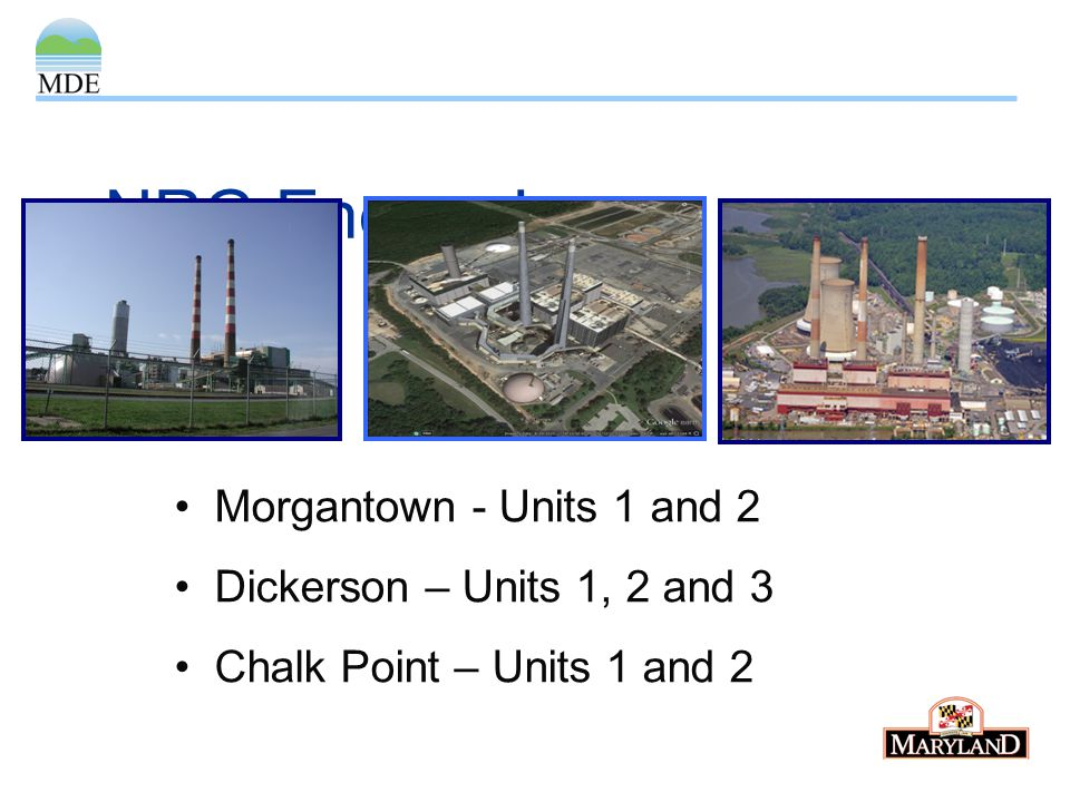 NRG Energy Inc. Morgantown - Units 1 and 2