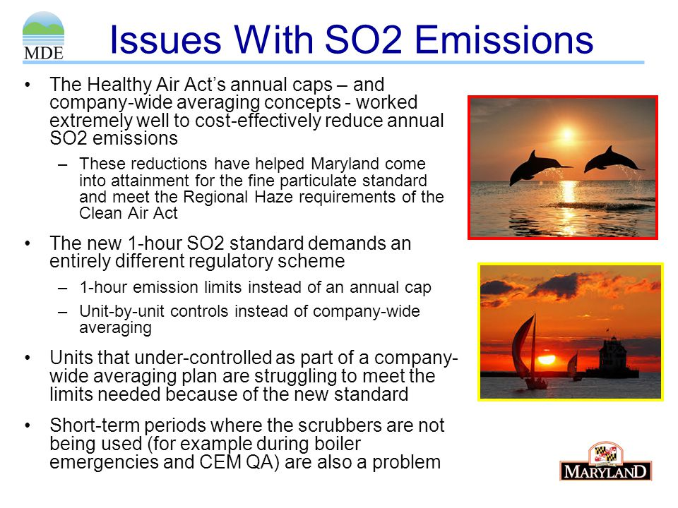 Issues With SO2 Emissions