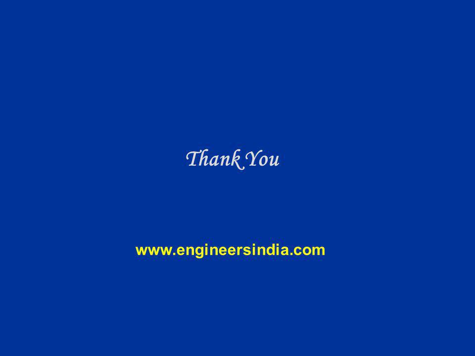 Thank You www.engineersindia.com 18 4 4
