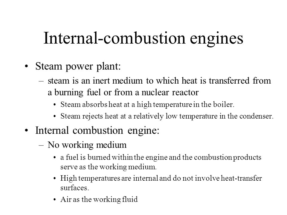 Internal-combustion engines
