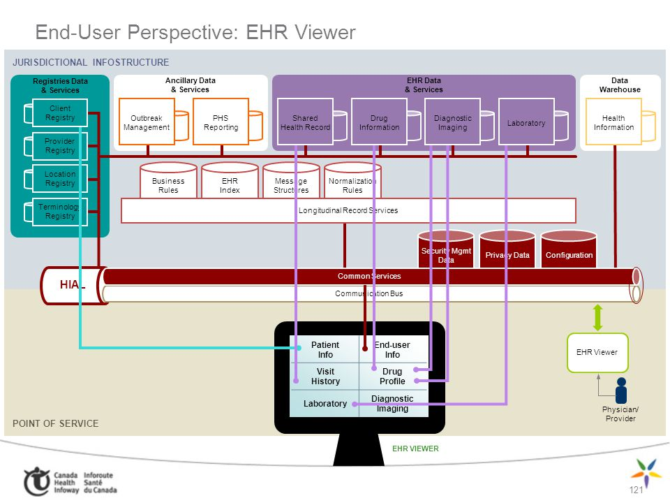 End-User Perspective: EHR Viewer