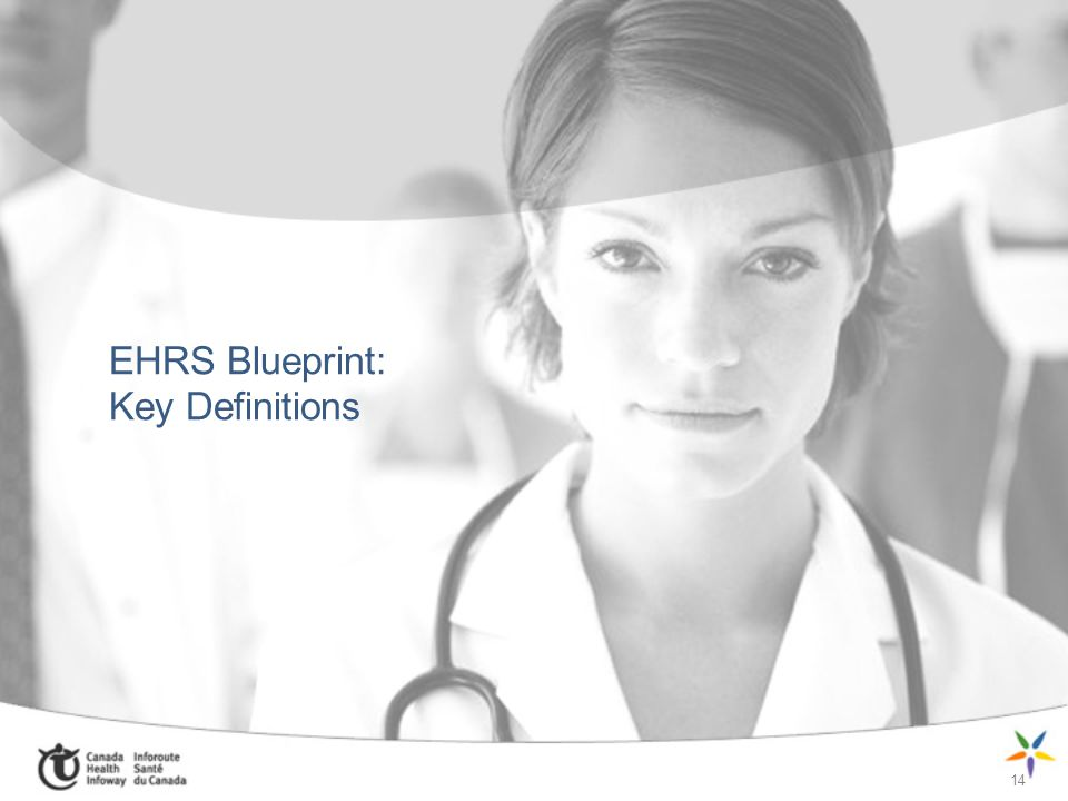 EHRS Blueprint: Key Definitions