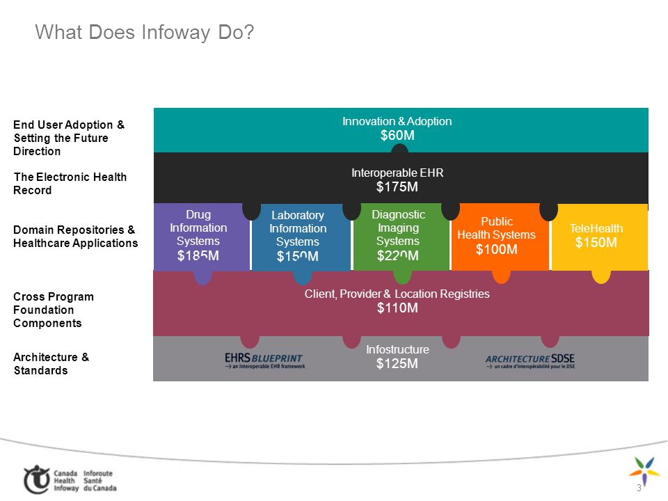 What Does Infoway Do Innovation & Adoption $60M