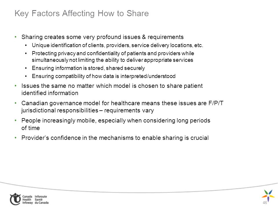 Key Factors Affecting How to Share