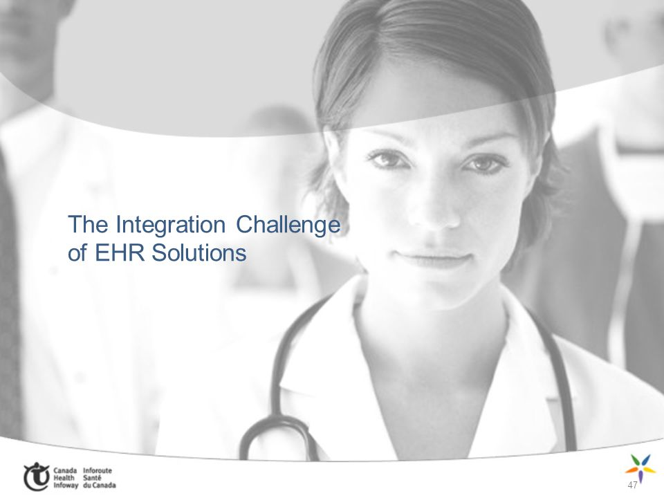 The Integration Challenge of EHR Solutions