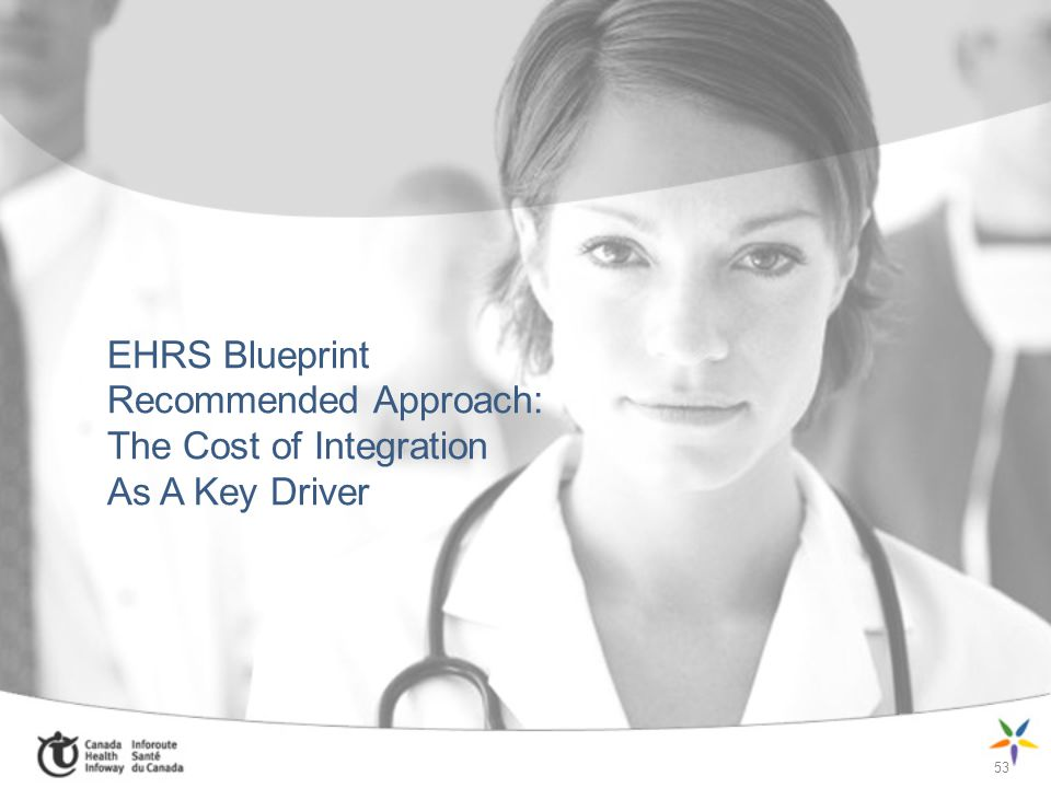 EHRS Blueprint Recommended Approach: The Cost of Integration As A Key Driver