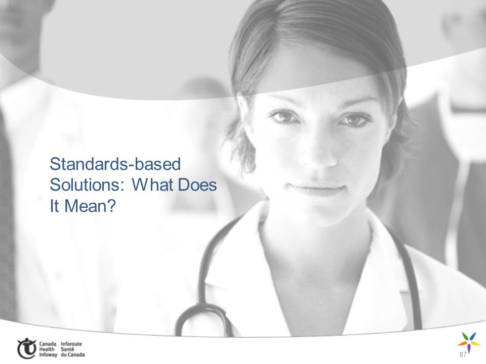 Standards-based Solutions: What Does It Mean