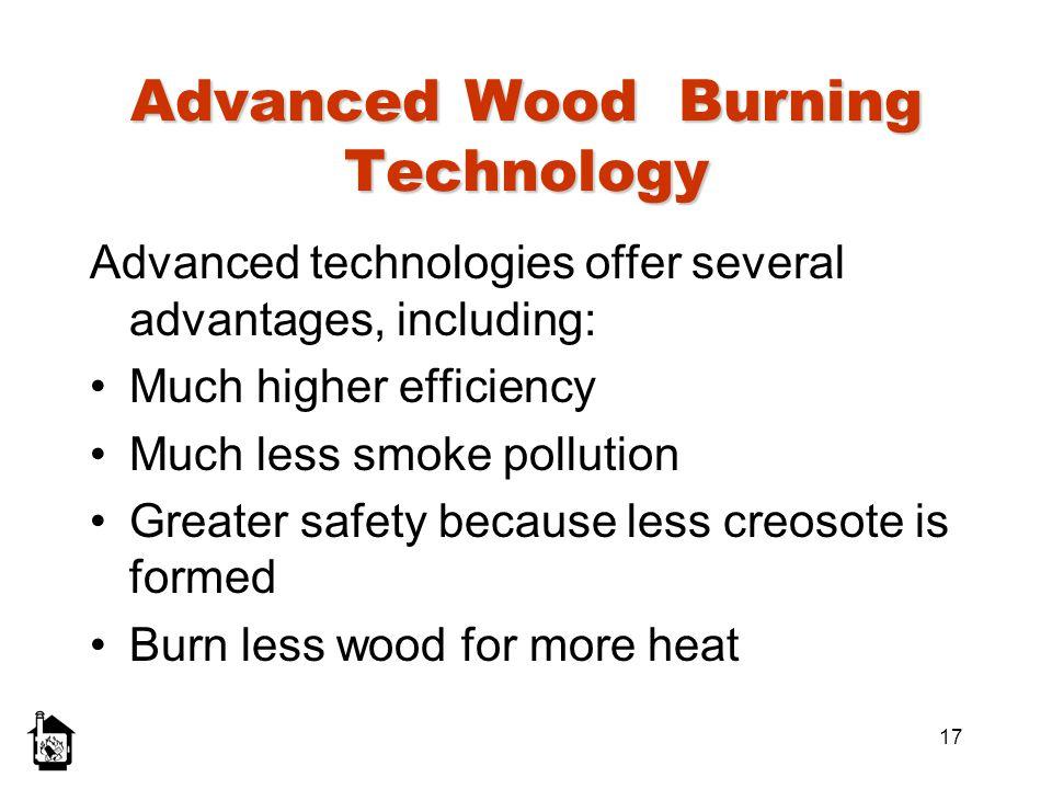 Advanced Wood Burning Technology