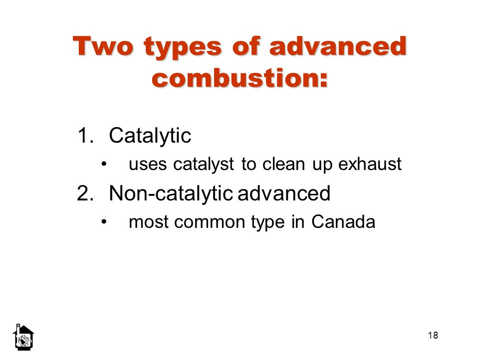 Two types of advanced combustion: