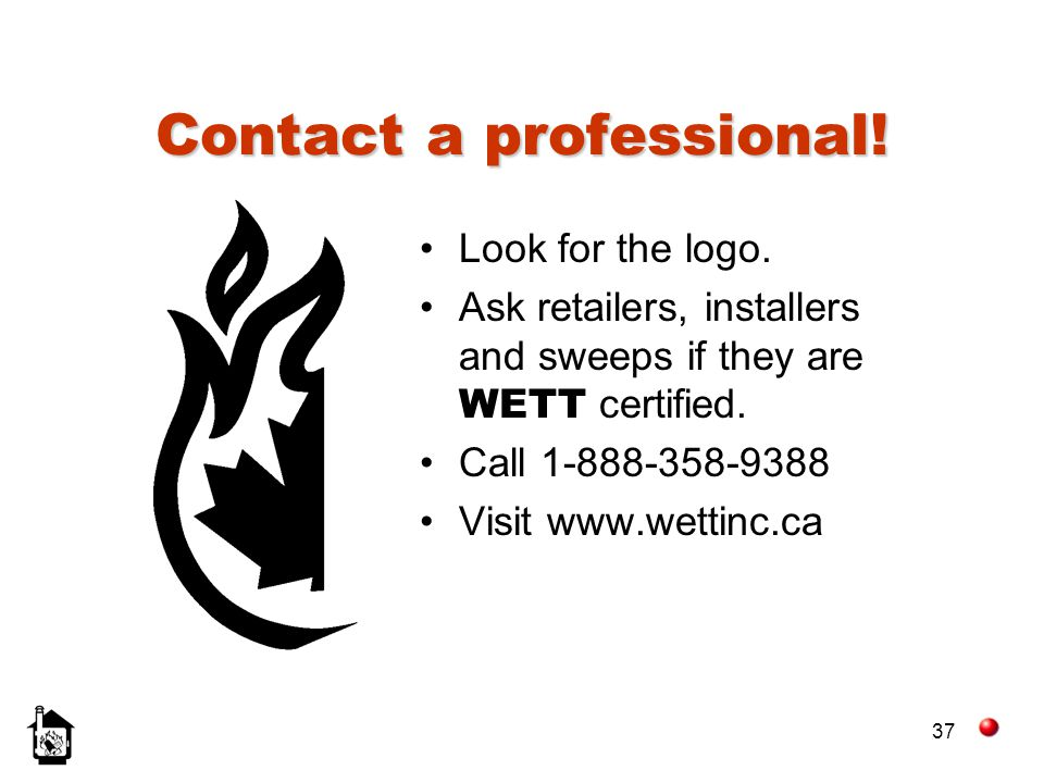 Contact a professional!