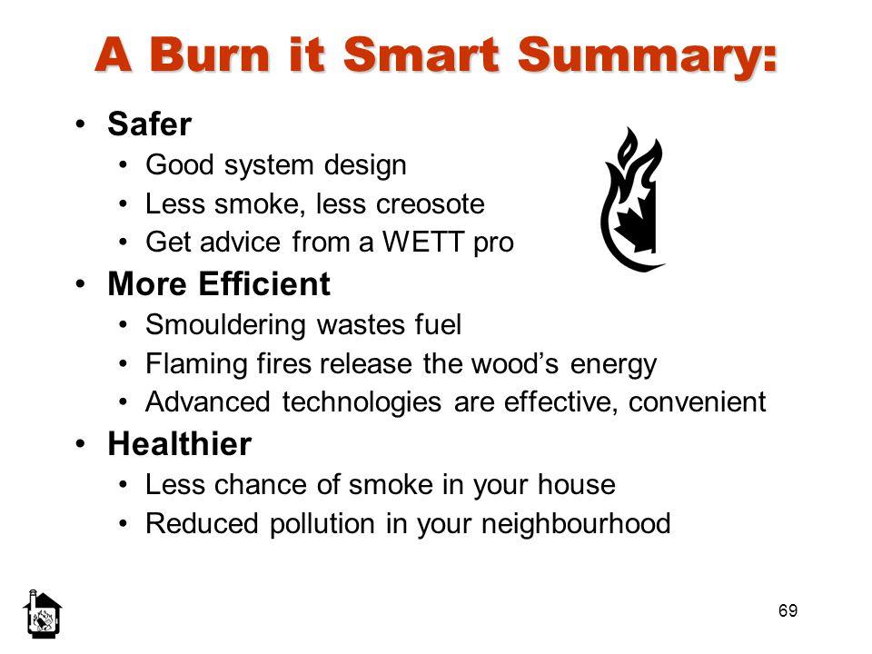 A Burn it Smart Summary: