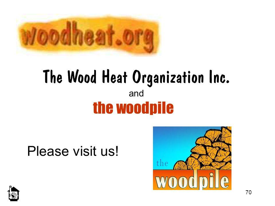 The Wood Heat Organization Inc.
