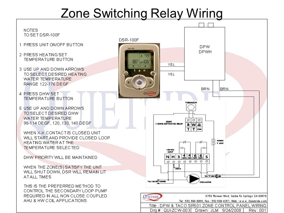 taco sr501 switching relay wiring sr503 switching relay elsavadorla
