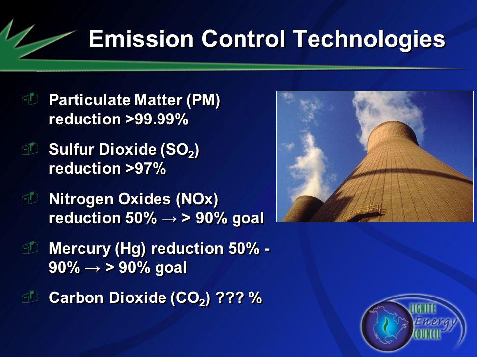 Emission Control Technologies