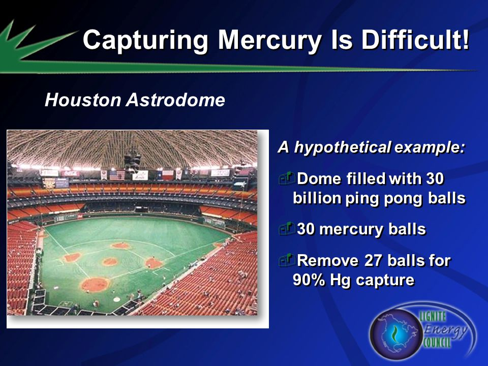 Capturing Mercury Is Difficult!