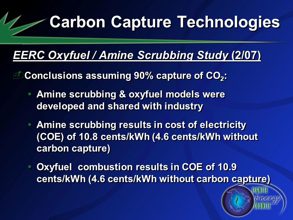 Carbon Capture Technologies