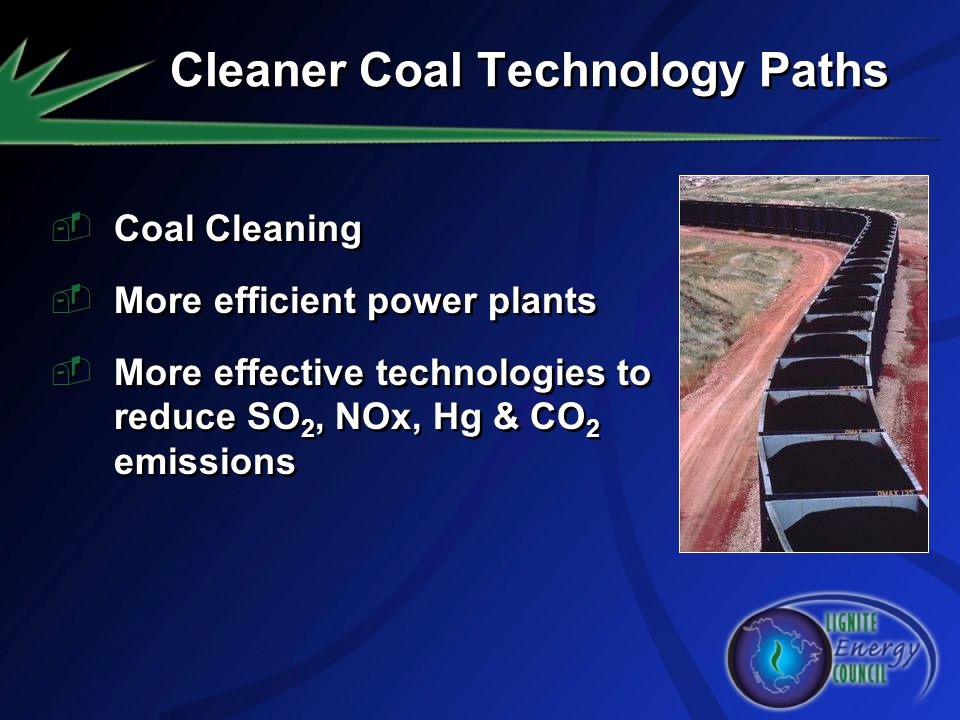 Cleaner Coal Technology Paths
