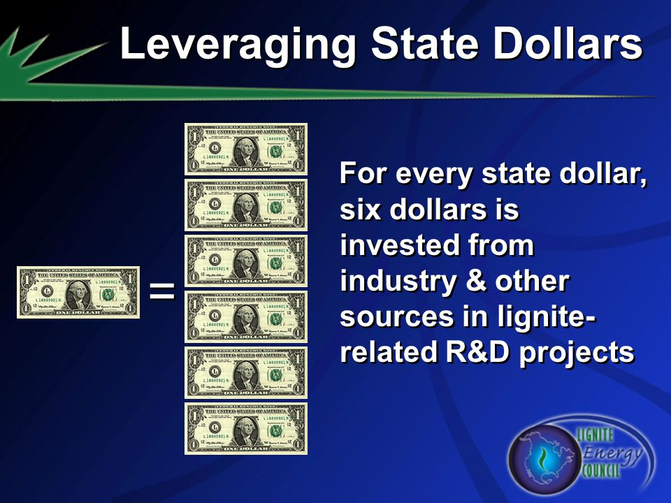 Leveraging State Dollars