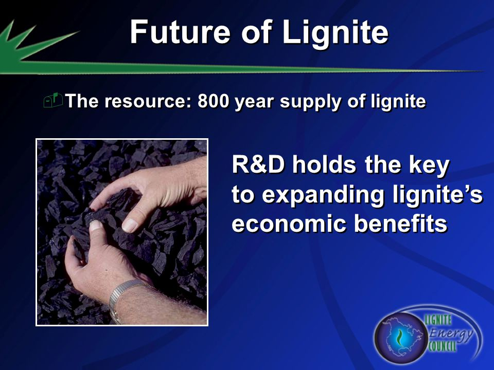 Future of Lignite R&D holds the key to expanding lignite's