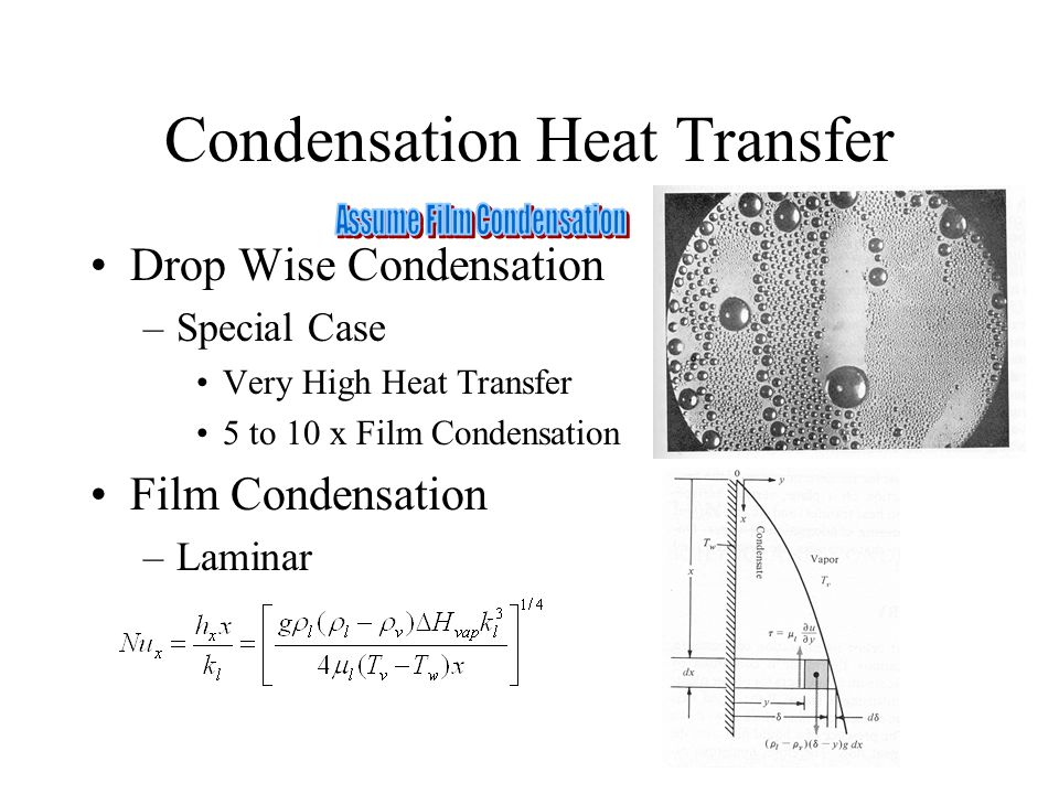 Condensation Heat Transfer